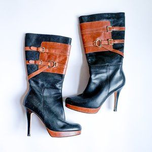 Cole Haan Leather Knee High Boots